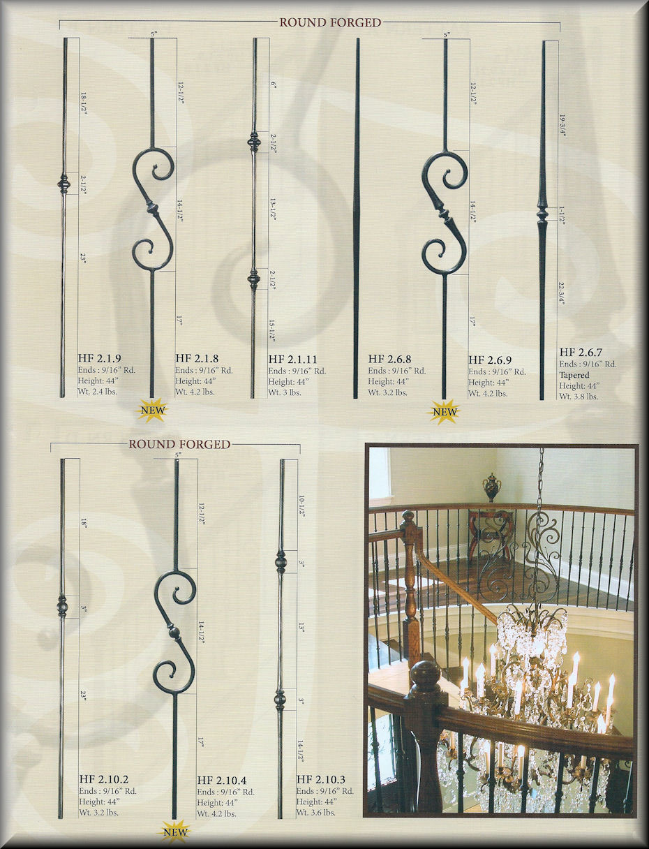 Round Series Balusters - 2