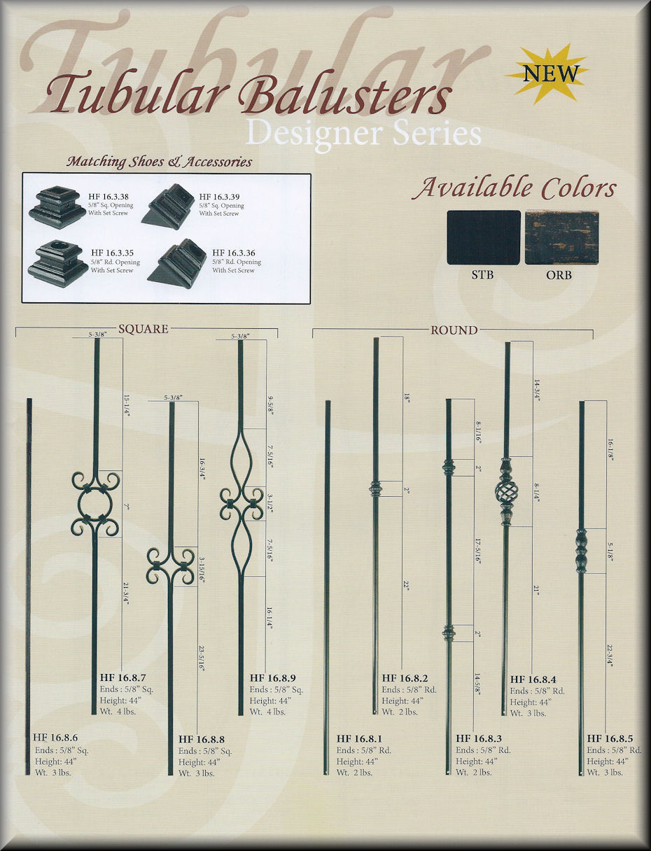 Tubular Baluster Series