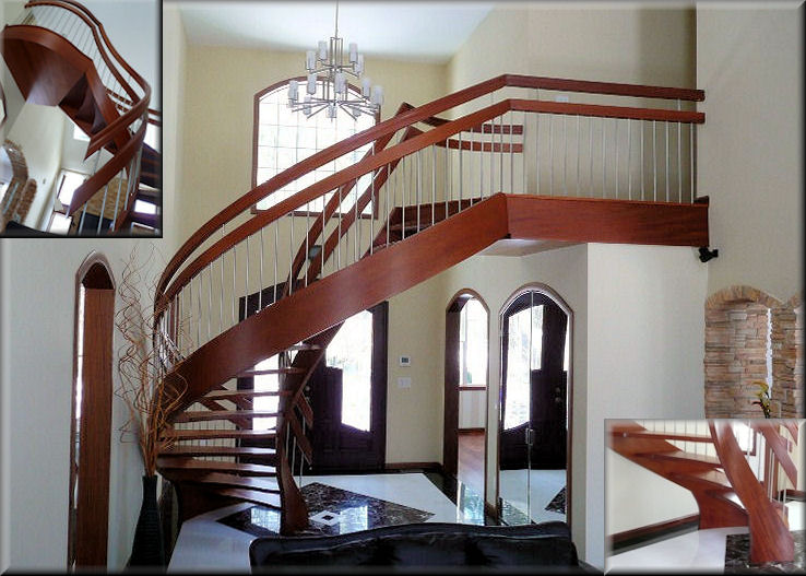 Customized HT Series stairs